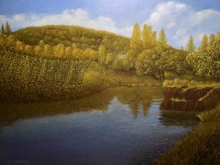 Napa River Scene #2 11 x 14 December 2017